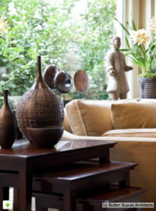 charmean neithart interiors designs with african masks and artifacts