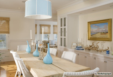 Get a refreshing beach house look charmean neithart for Beach house look interior design