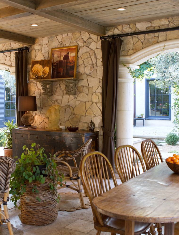 French colonial in pasadena charmean neithart interiors for French colonial kitchen designs