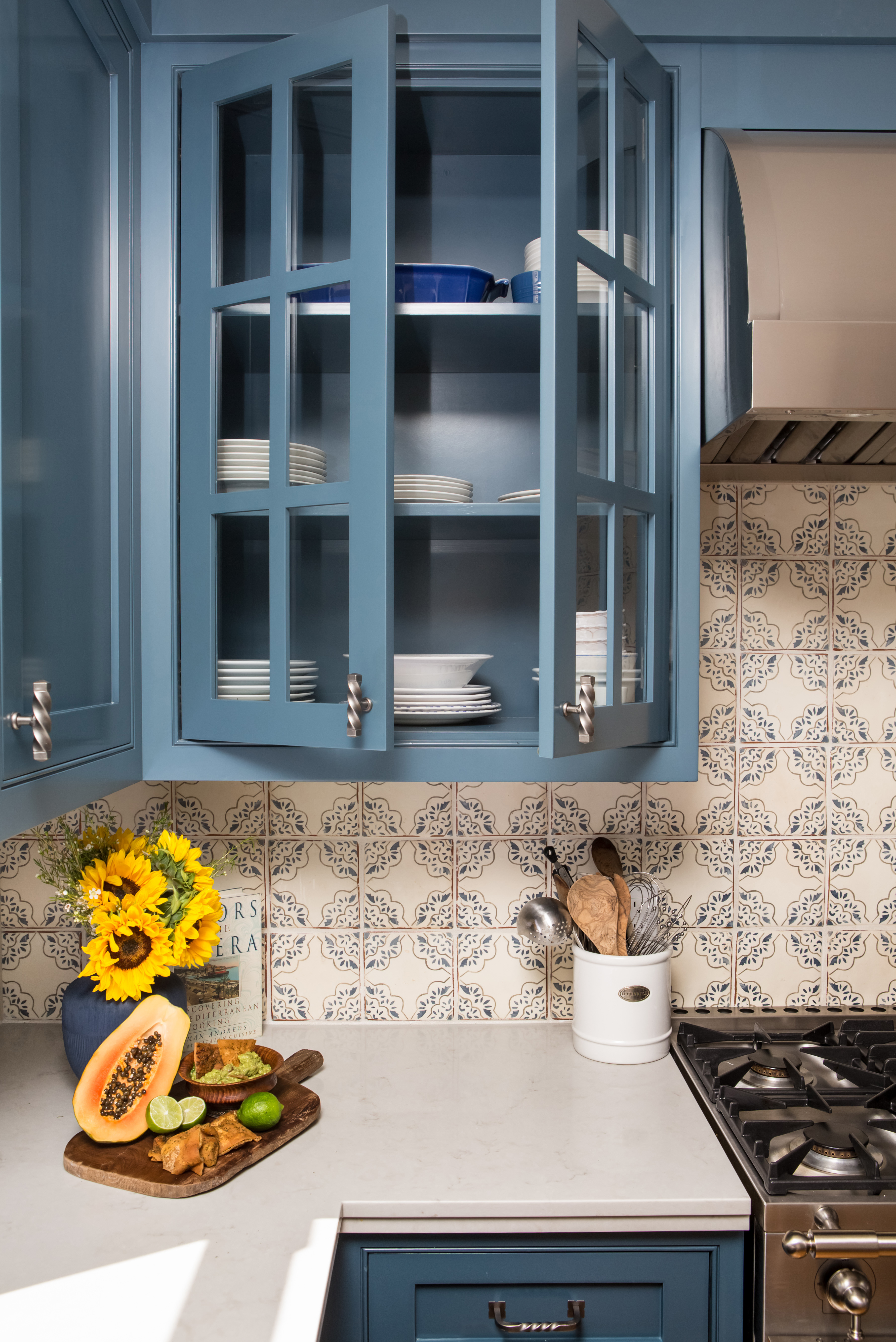 Small Spanish Style Kitchen Charmean Neithart Interiors Designs Stunning Living Rooms Kitchens Bathrooms